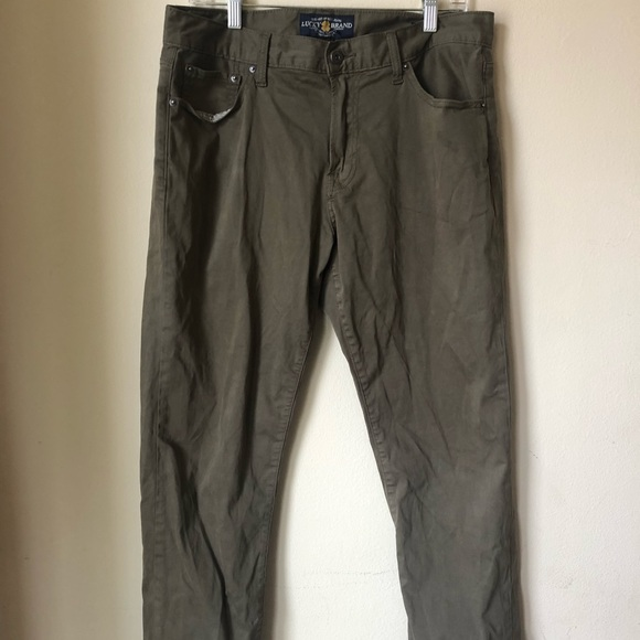 Lucky Brand Other - Men's lucky brand olive green jeans